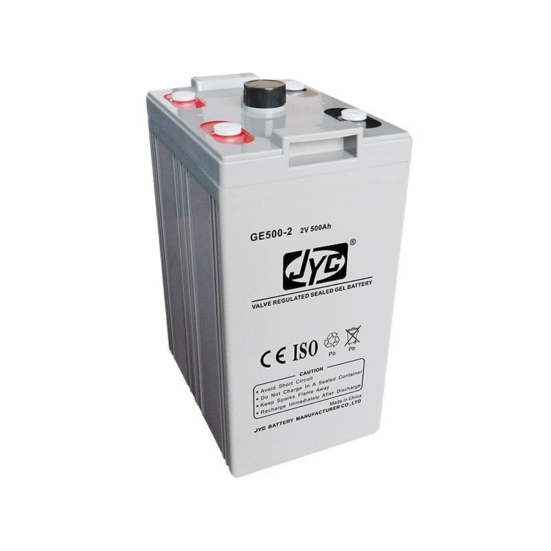 Lead Acid Solar Battery 2V 500Ah (UXL 500-2) 1 in series 10 in parallel Formed 2V 5000Ah Battery