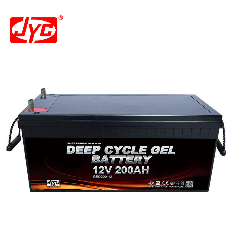 12V 200Ah Deep Cycle Solar Battery for Home Solar Systems