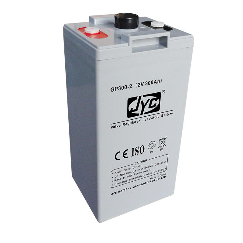Maintenance Free Sealed VRLA Battery 2v 300ah Solar Battery