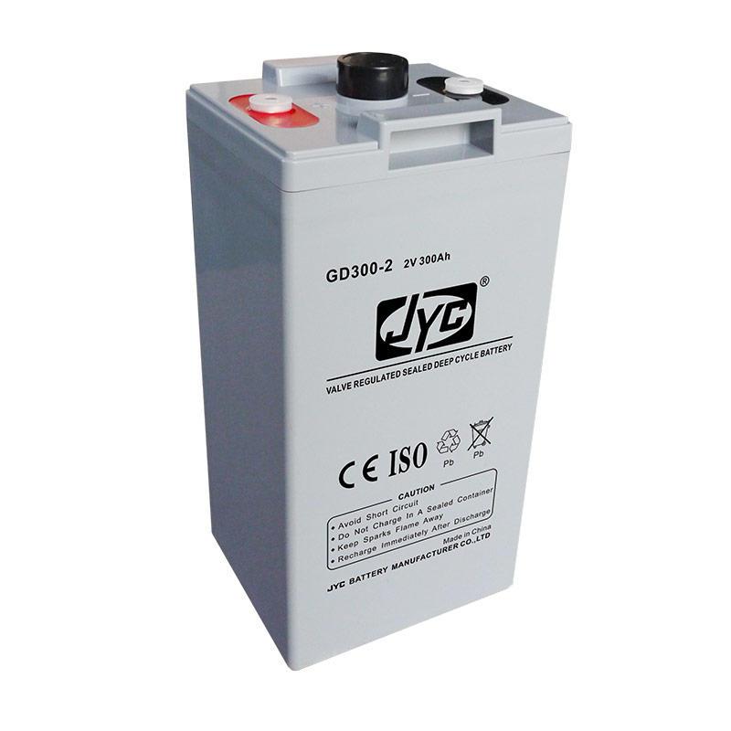 Maintenance Free Sealed Solar Battery 2v 300ah Gel Battery for Solar System