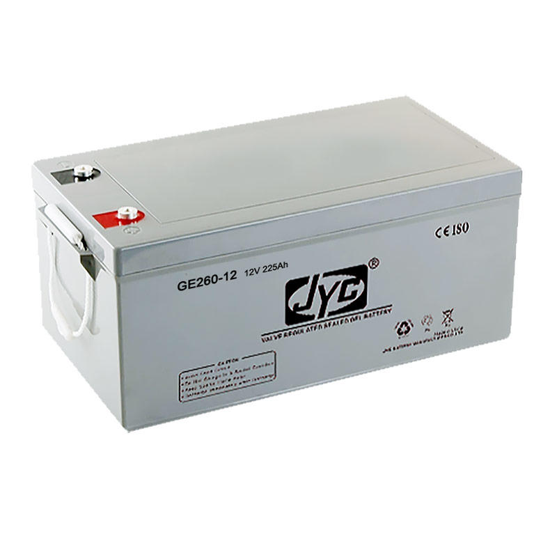 Top sale China manufacturer 12v 260ah agm solar battery