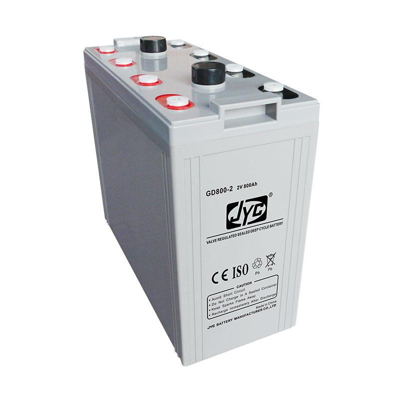 Maintenance Free Sealed Gel Battery 2v 800ah Solar Battery for Solar System