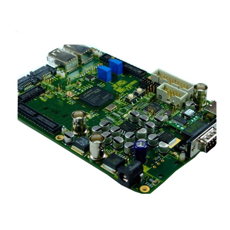 Custom made multilayer PCBA assembly for telecom with electronic parts