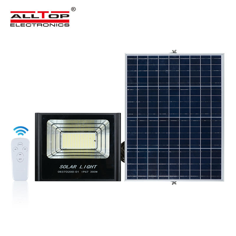 ALLTOP High quality ip67 waterproof Bridgelux smd 50w 100w 150w 200w solar led flood light