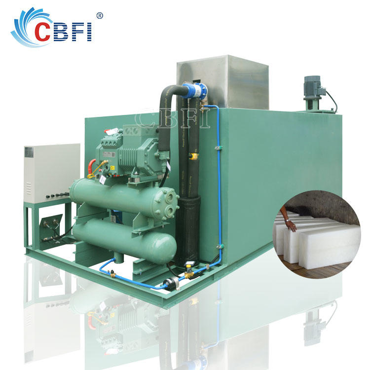 CBFI Industrial Ice Business Ice Block Making Machine Guangzhou Manufacturer