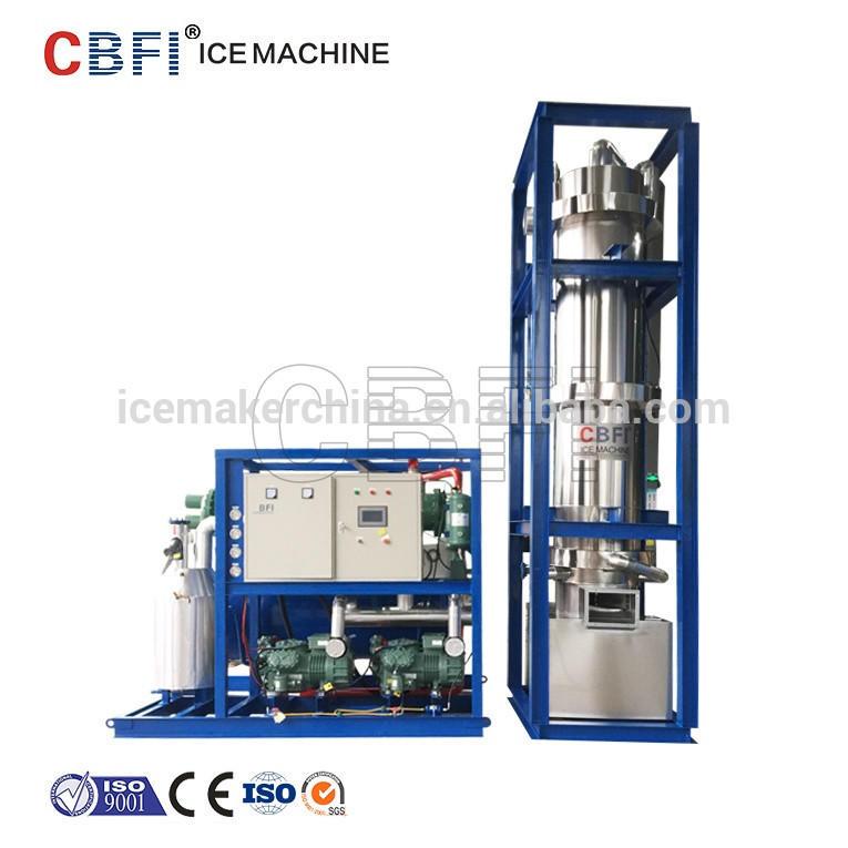 CBFI Tube Ice Machine Price 1 ton 3 ton 5 ton 10 ton
