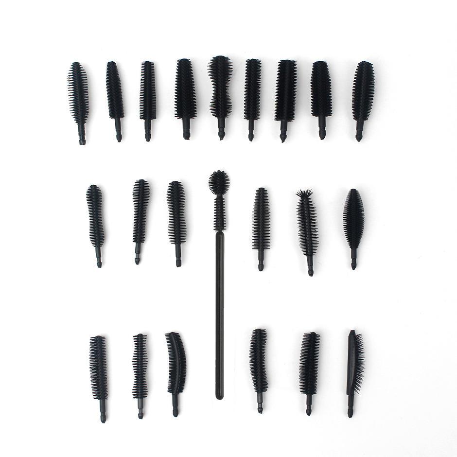 Hot sale Silicone Makeup Tools Mascara wands Head Disposable Eyelash Brush