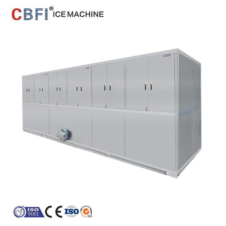 Industrial Types Large Capacity 1 ton to 20 tons Edible Crystal Ice Cube Making Machine Commercial Ice Maker Manufacturer Price