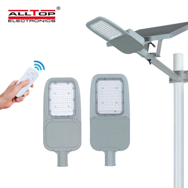 ALLTOP High lumen waterproof outdoor lighting ip65 smd 30w 60w led solar street light