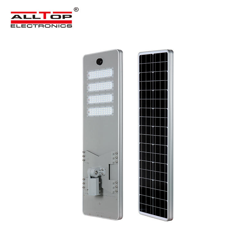 ALLTOP High quality outdoor lighting solar charging ip65 smd 50w 100w 150w 200w integrated all in one led solar street light