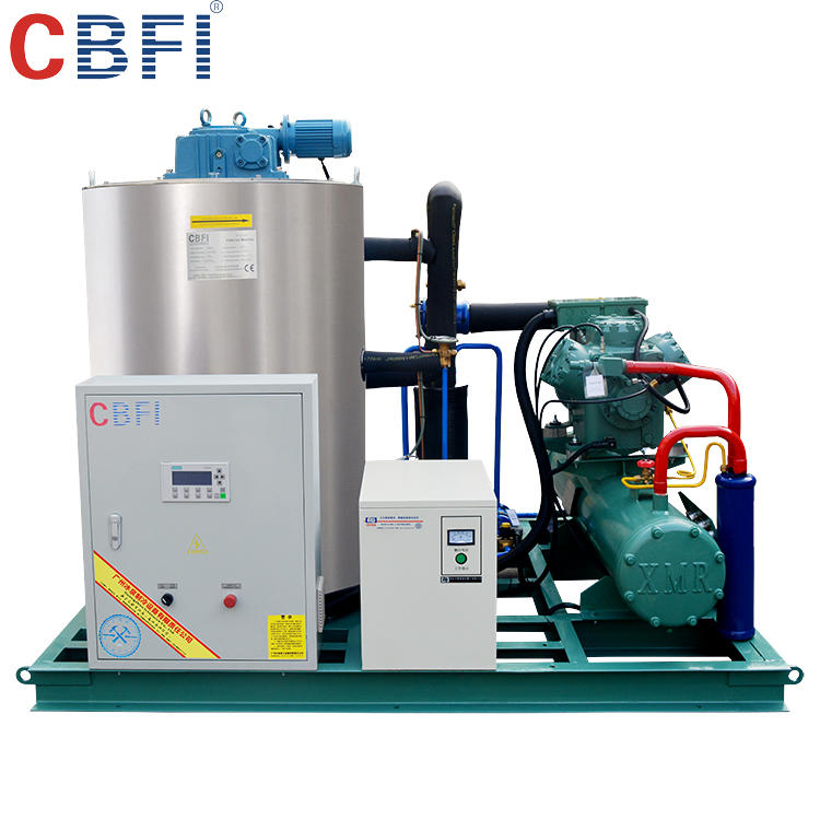 5 Tons Containerized Flake Ice machine with cold room