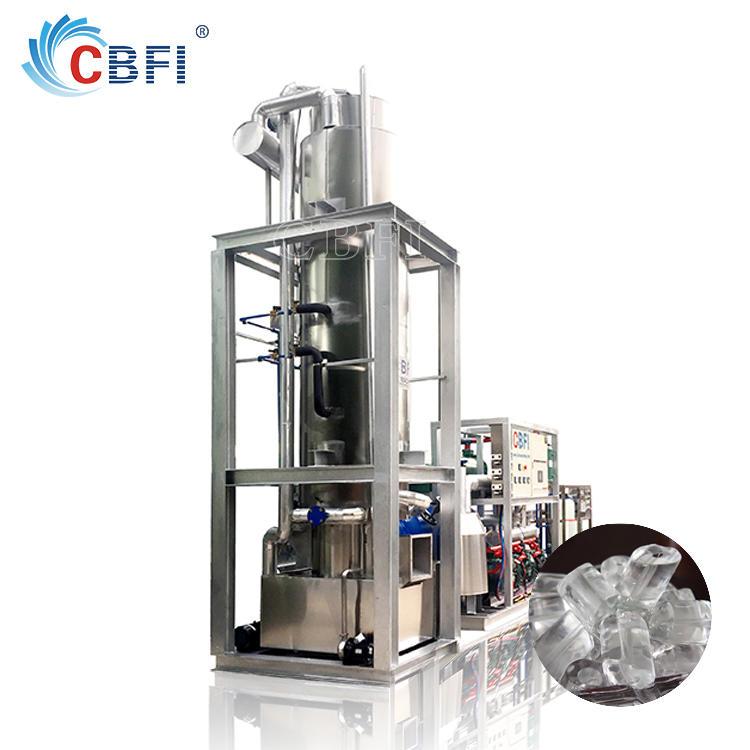 1 ton 5 ton 10 ton 20 ton 50 ton Tube Ice Maker machine for cool drink tube ice machine for sale