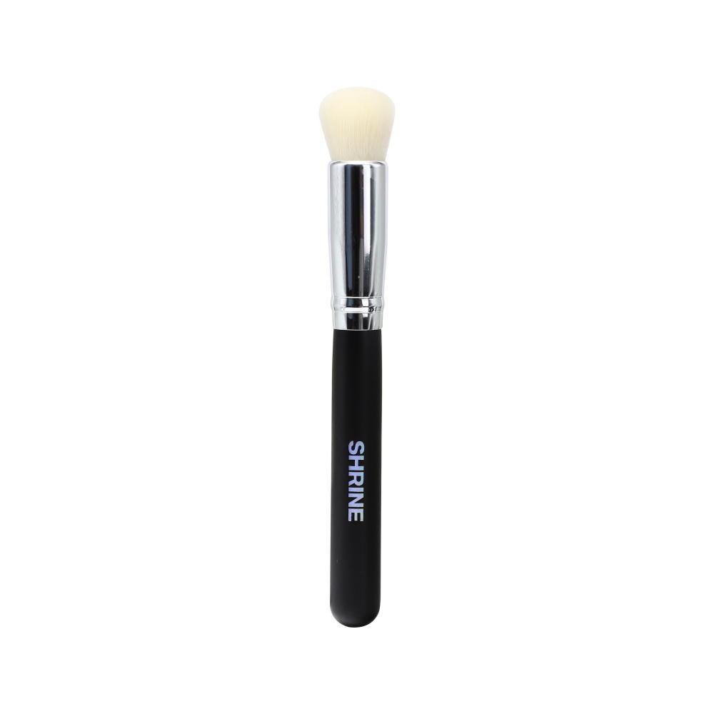 Luxury eye makeup brushes rose gold black flat custom private label makeup brush