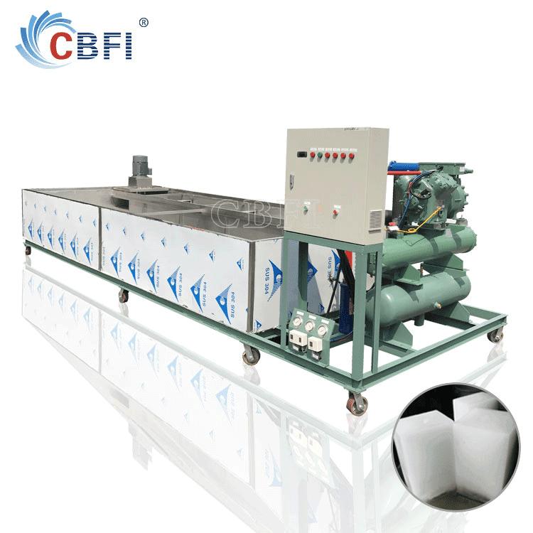 monoblock ice block making machine for plant production