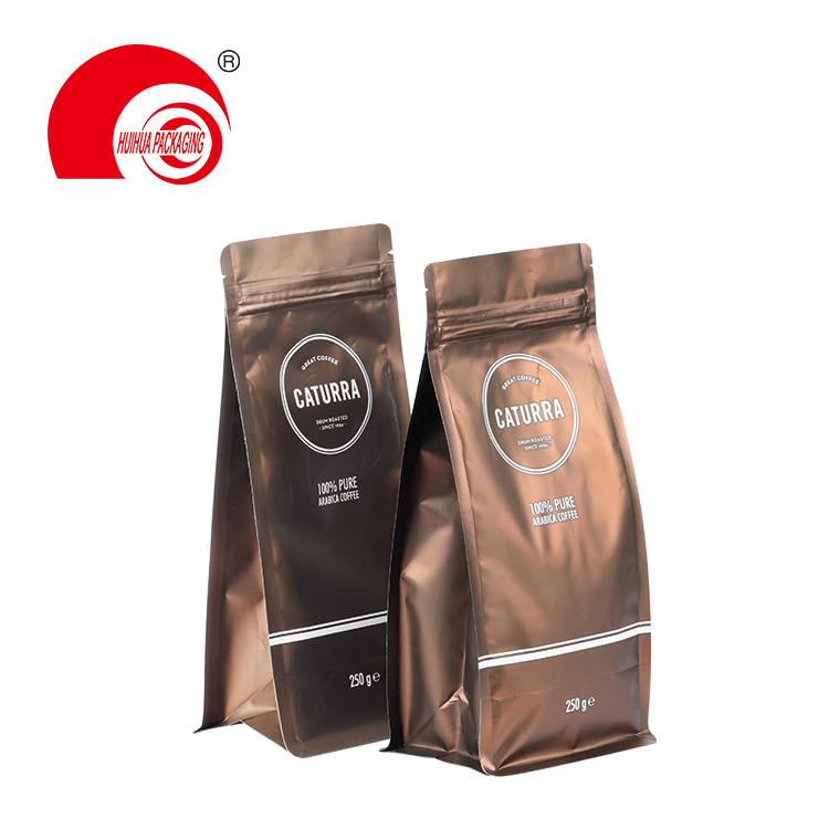 8oz 12oz 16oz 32oz 64oz Coffee Pouches Wholesale Customized Plastic Packaging Bag