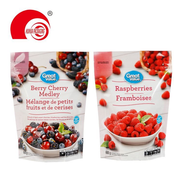 product-Huihua-Custom printed transparent plastic packaging bag clear zip lock stand up pouch mylar