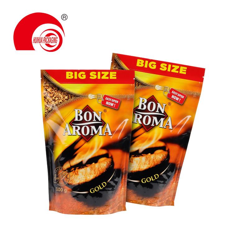 Heat Seal Mylar Foil Open Top Coffee Tea Packaging Bag Aluminum Foil Vacuum Food Storage Pouch