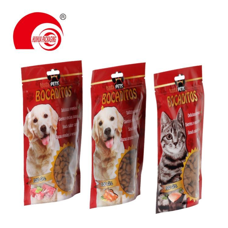 product-Huihua-Factory Custom Printed Aluminum Foil Package BagDoypackStand Up Pouch-img