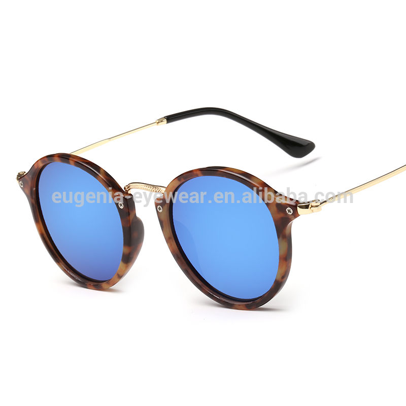 EUGENIA high quality modern designgood looking plastic frame Round Womens Sunglasses Trendy