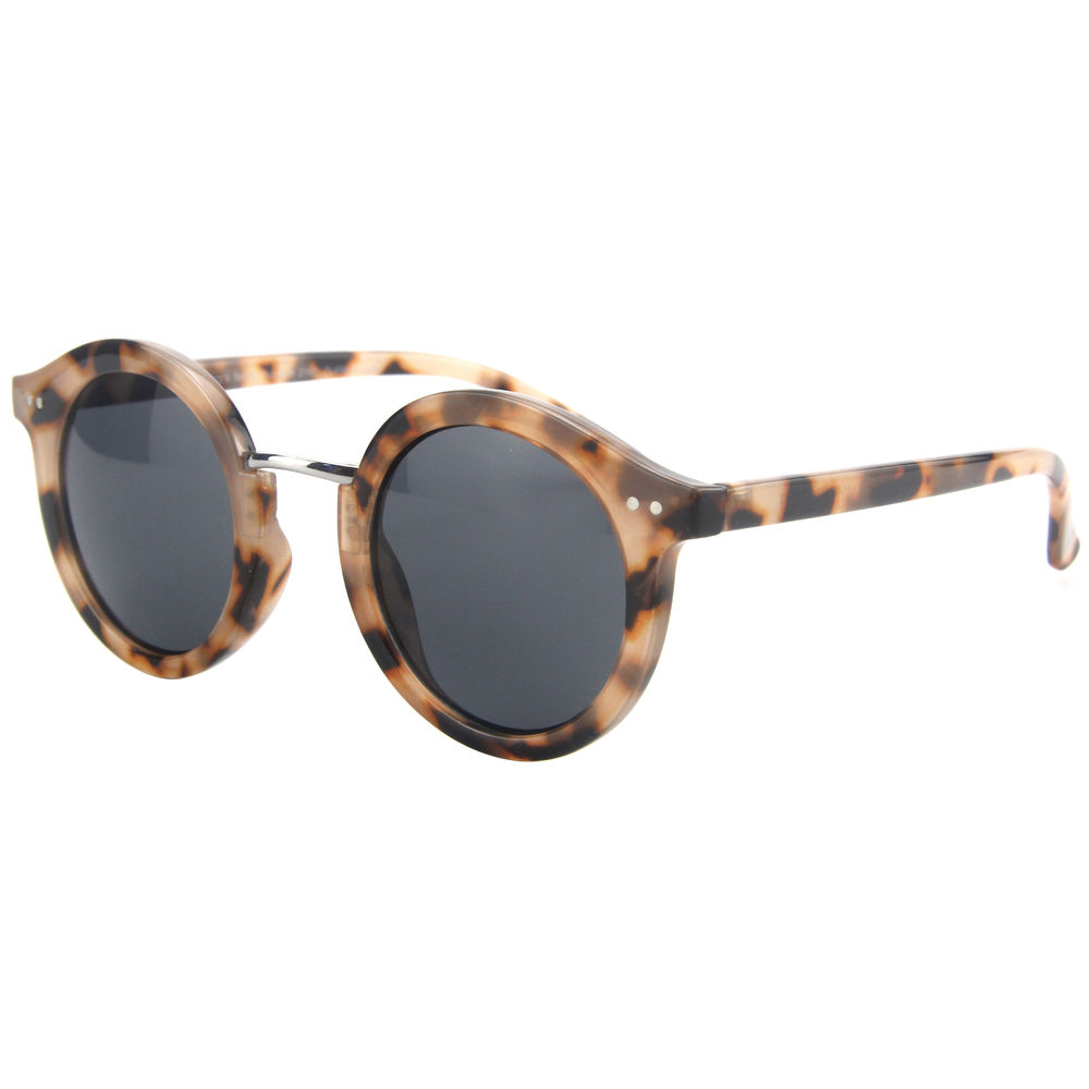 EUGENIA hot summer patterned frame recycled fashion brand metal sunglasses