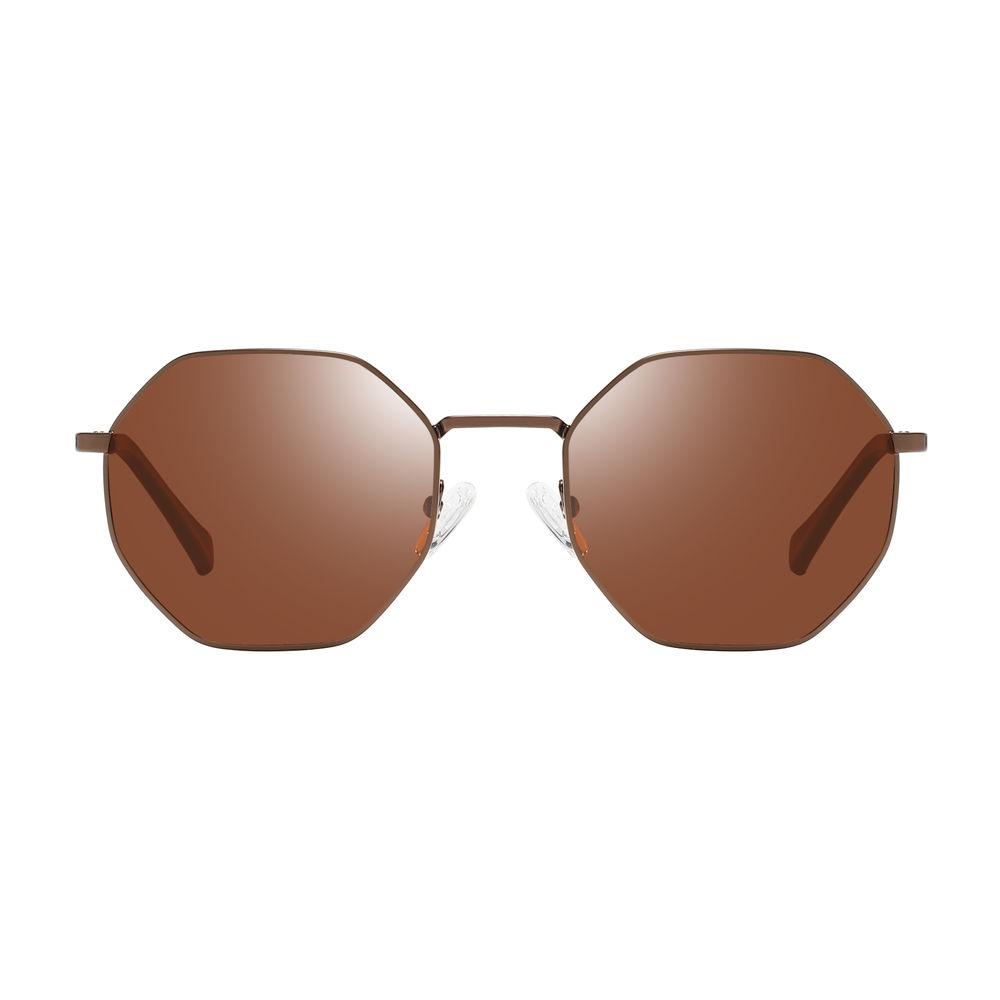 EUGENIAFashionable Metal Sunglasses Women Round Polarized Sun Glasses Wholesale