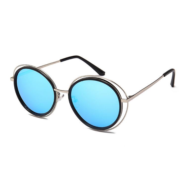 EUGENIA Top Quality Design Factory Premium Quality Label Optional Promotional Metal Sunglasses