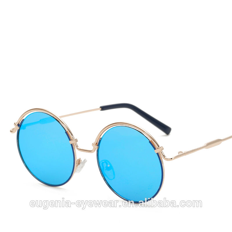 EUGENIA Aviation sunglasses polarized steel metal fashion sunglasses made by china supplier
