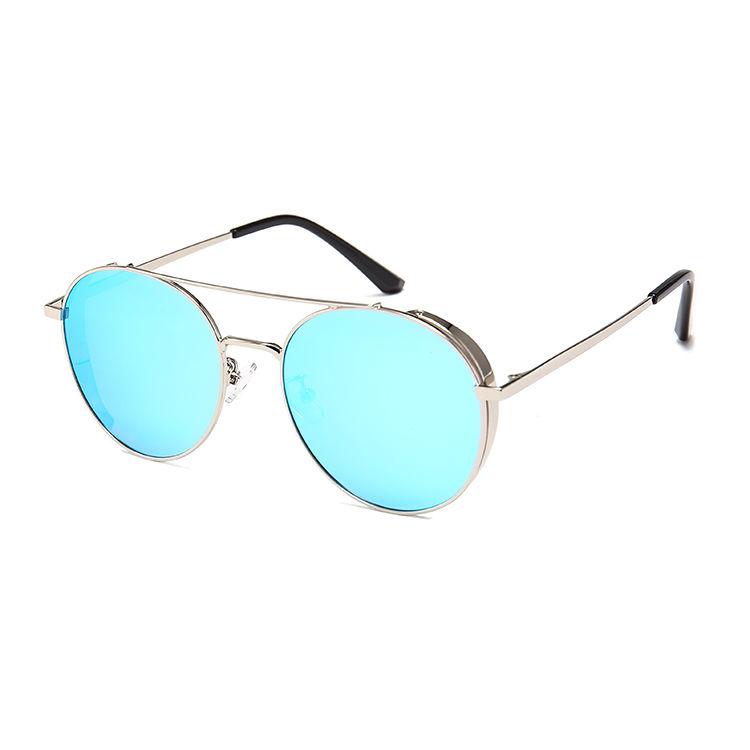 EUGENIA Wholesale Fashion Polarized Custom Design Round Sunglasses