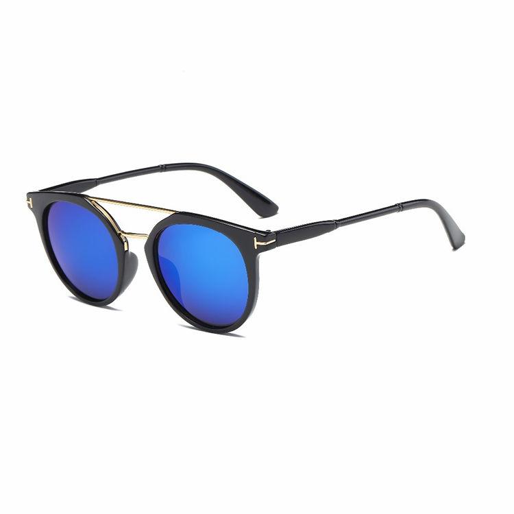EUGENIA Dark PC frame sunglasses OEM welcome can do custom polarized stickers for sunglasses