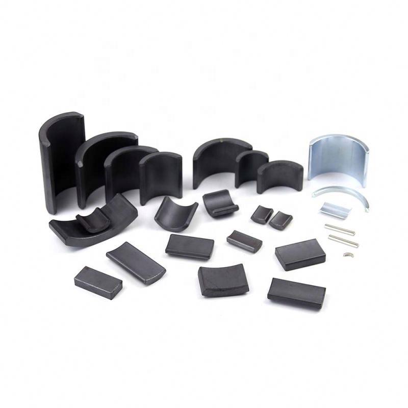 Customized all type size bulk wholesale price application electric motor machine arc ndfeb magnet