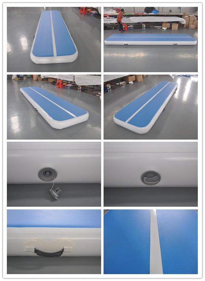 Gymnastics yoga mat tumble inflatable air track
