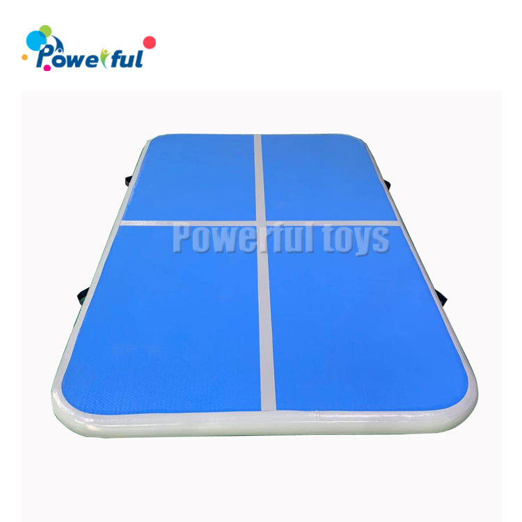 Small size trampoline gymnastics air mattress inflatable air track for gym