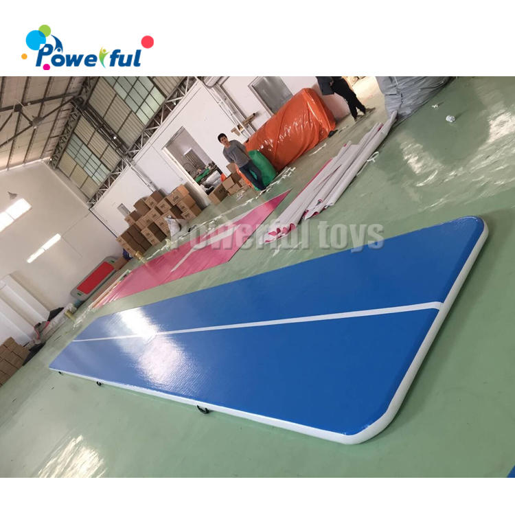 ready to ship 3m 4m 5m 6m 8m 10m 12m gymnastics equipment factory tumble air track inflatable airtrack for gym