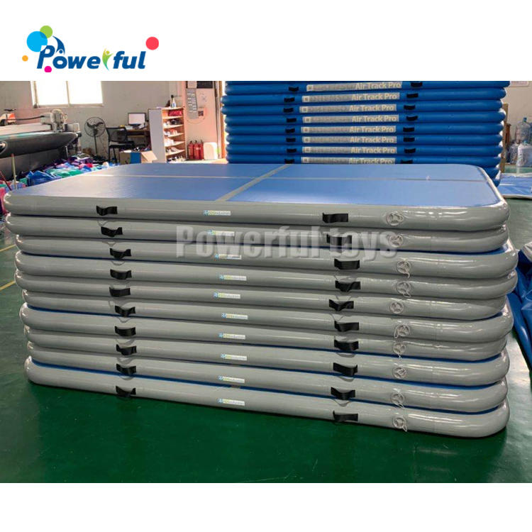 4 / 5 / 6 metercustom logo airtrack inflatable tumble track tumbling mat for gym