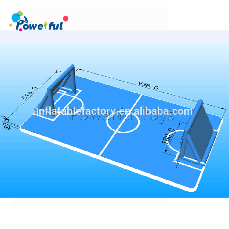 DWF material air track bubble football pitchinflatable football pitch for inflatable bubble football