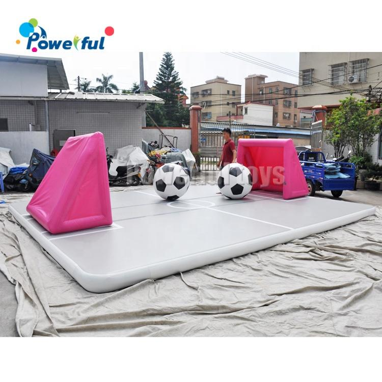 Big size air track inflatable gymnastic tumble track