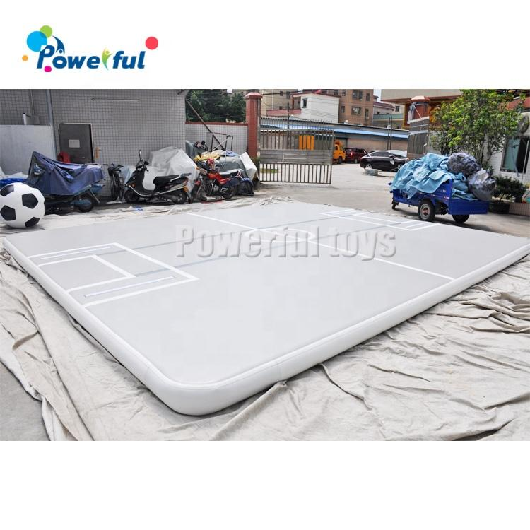 Ready to shipgymnastics equipment factory tumble air track inflatable air track for gym