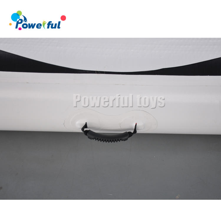 ready to ship 0.9mm PVC durable inflatable gym air track for training