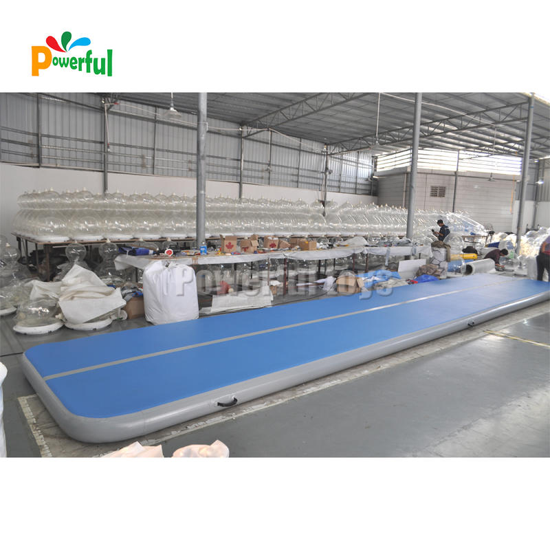 Color customize wholesale tumbling air track inflatable air track for gymnastics