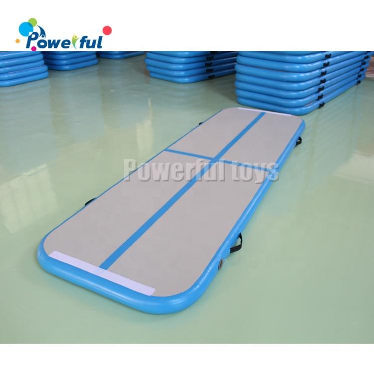 Customized size jump air track air mat for gymnastics