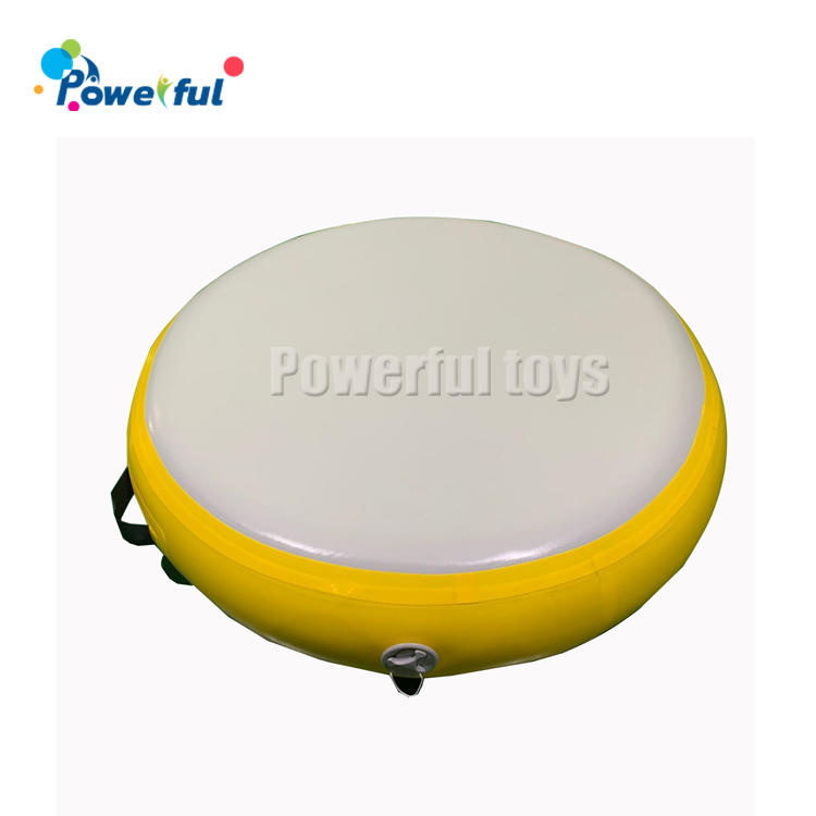 Inflatable Gymnastics Round Air Track Tumbling Circle gym yoga Mat air spot