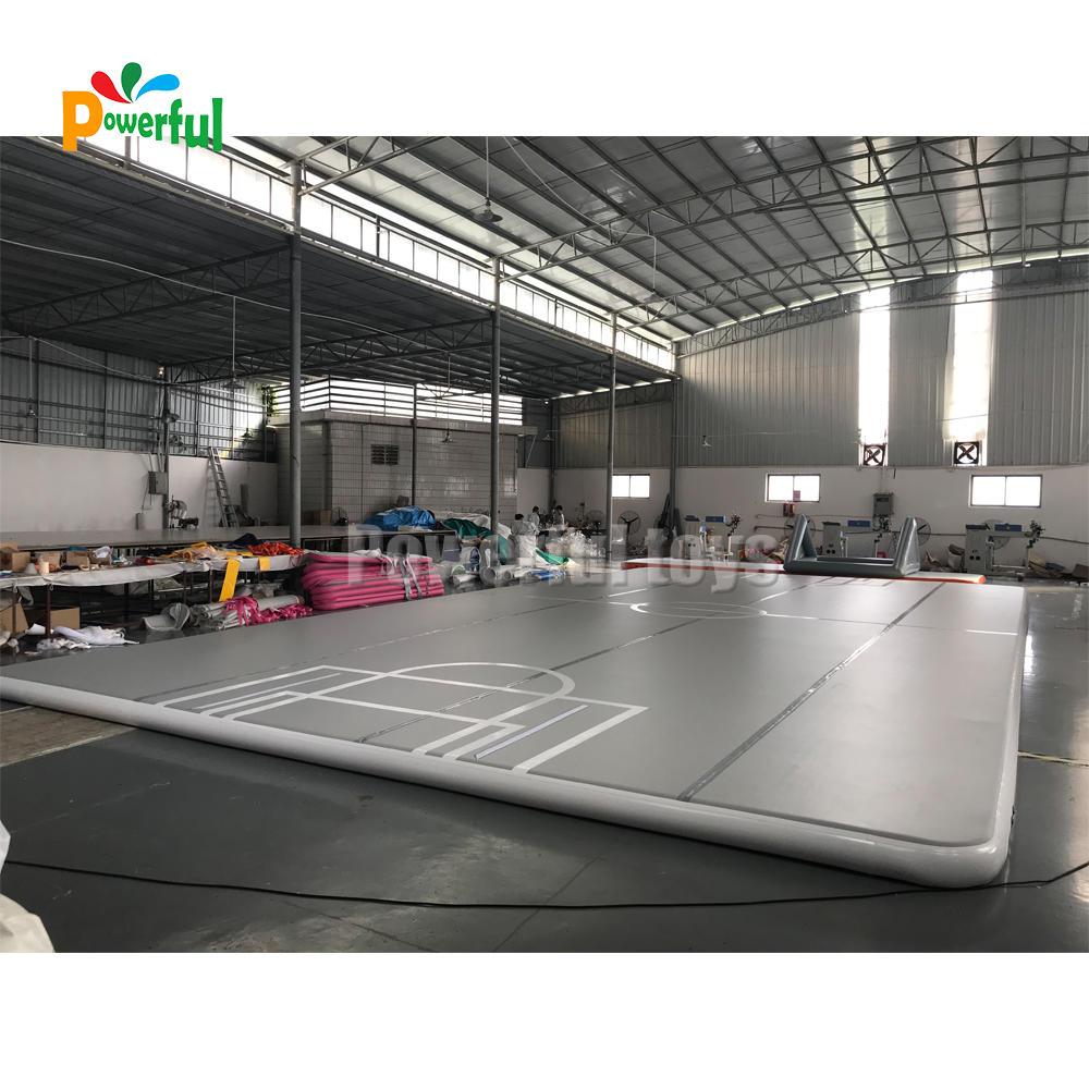 Giant inflatable air track large inflatable gymnastics mat