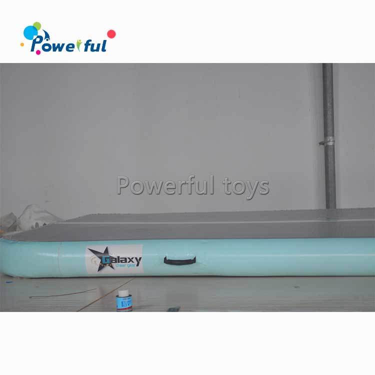 On sale Customized Logo Yoga Mat inflatable air track for gymnasticstumbling