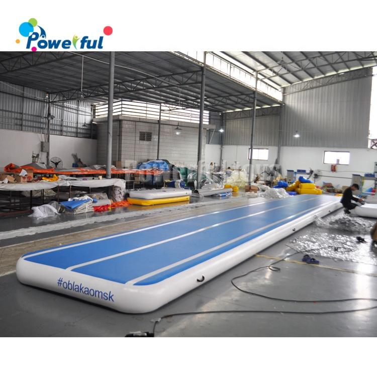 ready to ship Inflatable Bounce Gymnastics Jumping Mat Gym Landing Mats Bouncing Square Air Track