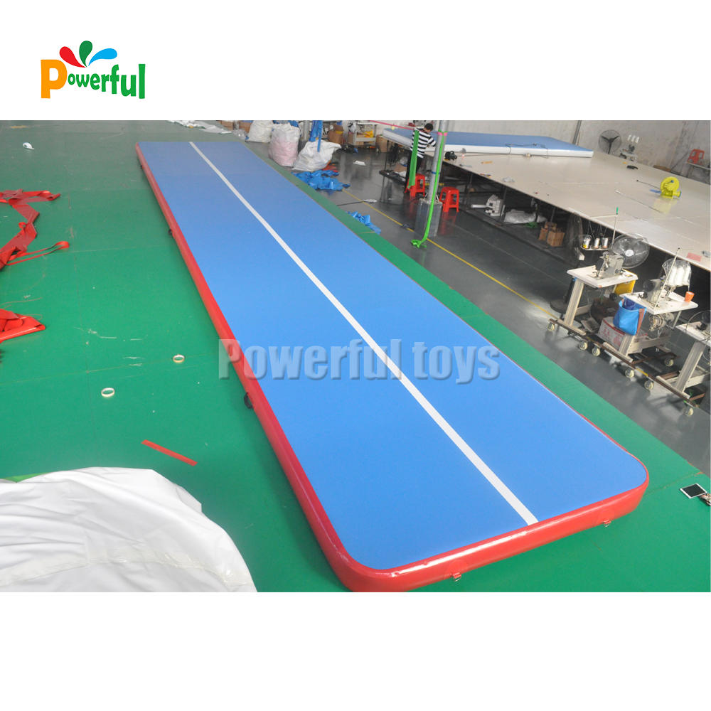 10m inflatable air track factory price air track for gymnastics