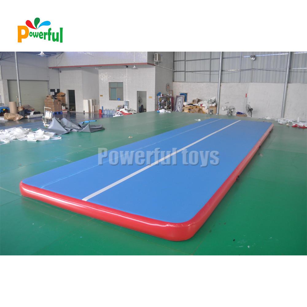 40 feet dancing bouncing mat inflatable gymnastic air track