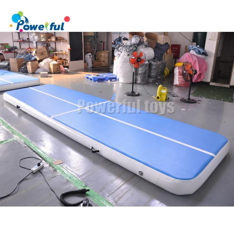 Ready to ship High Quality 0.2mH gym training mattress inflatable landing Air Track