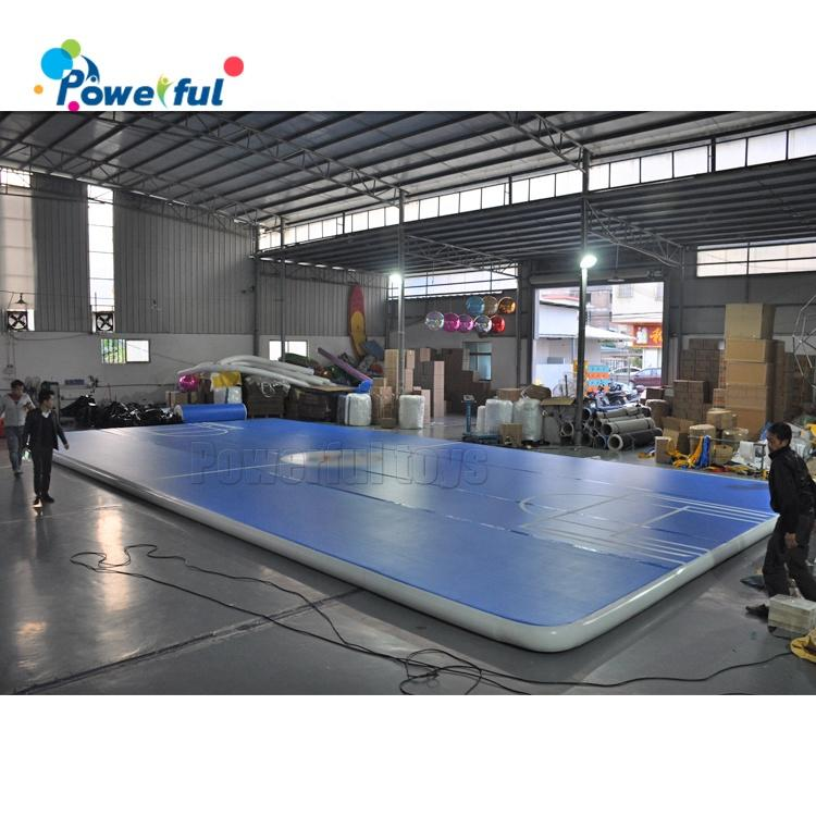 Ready to ship 0.2m thickness inflatable air track gymnastics landing mattress for sale