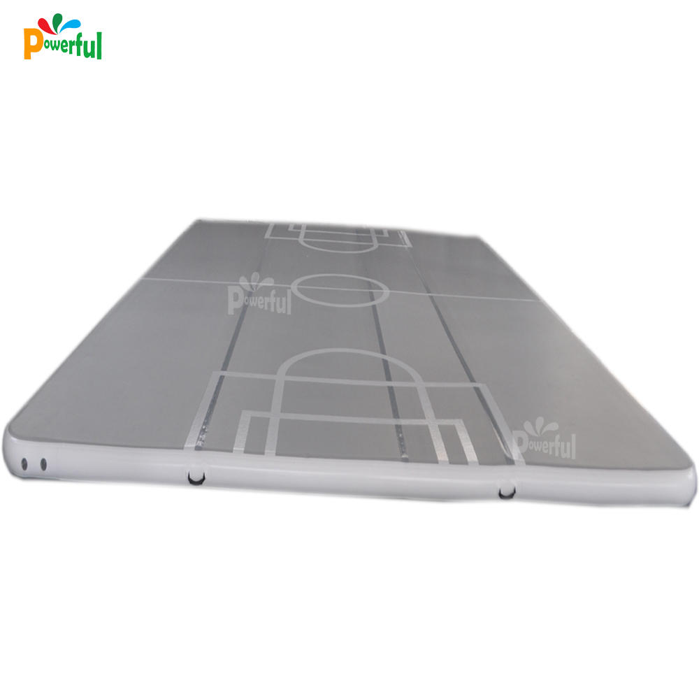 Trampoline park big inflatable gymnastics air floor Inflatable GYM Air Track for Football Game