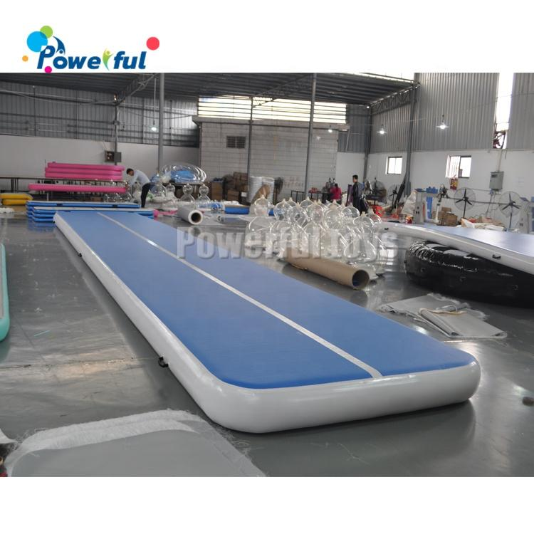 ready to ship 3M 5M 6M 8M 10M 12M inflatable gym air tumble track tumbling mat home airtrack for gymnastics